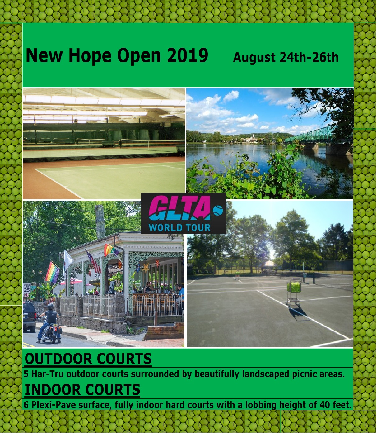 Metropolitan Tennis Group New Hope Open 2019